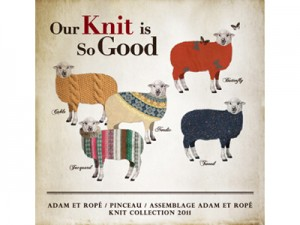 「Our Knit is So Good 」