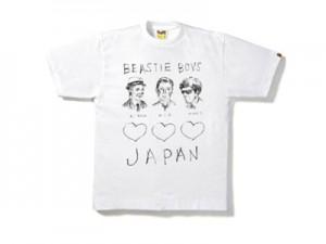 「A BATHING APE x BEASTIE BOYSチャリティTシャツ」