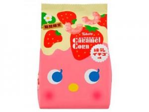 「キャラメルコーン・練乳イチゴ味」
