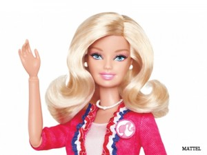 I Can Be…President Barbie