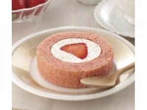 プレミアムいちごのロールケーキ(あまおう苺使用)
