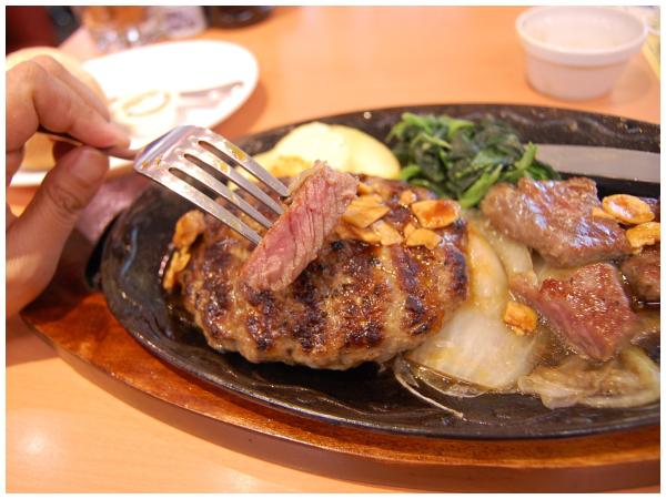 ビーフ&大麦牛100%ハンバーグ 2