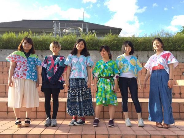 22人の学生による七十二候 季節の四角衣てぬぐい展