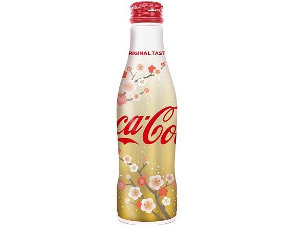 新年の乾杯に!梅咲き誇る華やかなパッケージのコカ・コーラ - STRAIGHT PRESS[ストレートプレス]