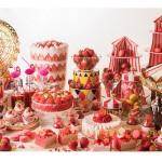 今年はサーカスがテーマ!大人気の苺デザートブッフェ開催