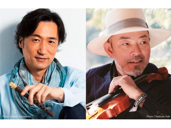 東儀秀樹×古澤巌ディナー&コンサート