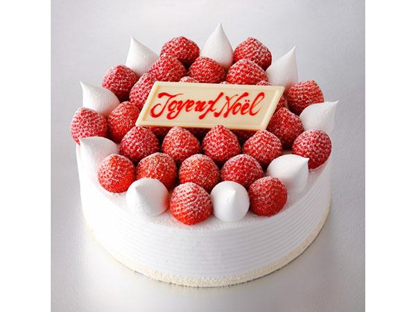スーパークリスマスあまおうショートケーキ