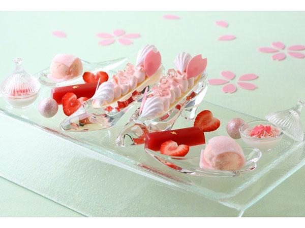 ホテルでお花見 桜フェア
