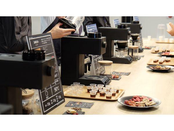 話題のコーヒーメーカーを使った世界のコーヒー飲み比べ会