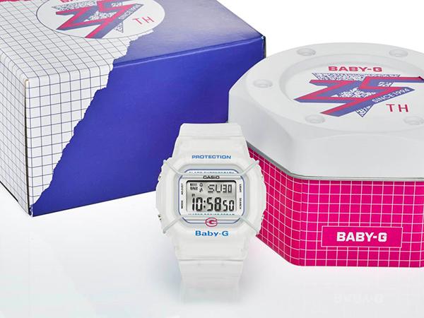 初代モデルを復刻!「BABY-G」発売25周年記念モデルが登場