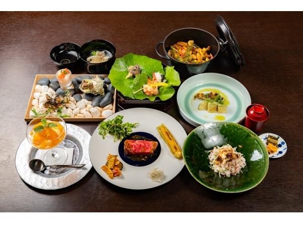 横浜うかい亭×瓢亭の饗宴!長崎県の食材を使った限定コース