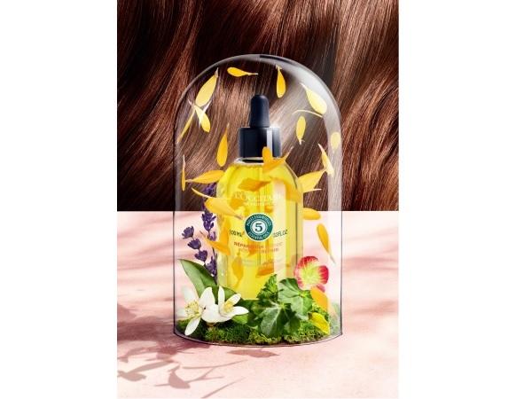 ロクシタンから紫外線ダメージを受けた髪用のヘアオイル発売