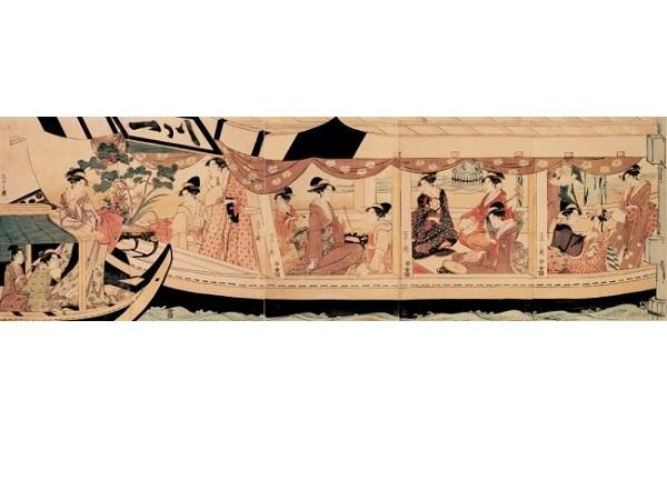 江戸東京博物館で「浮世絵と邦楽−隅田川をめぐって−」上演