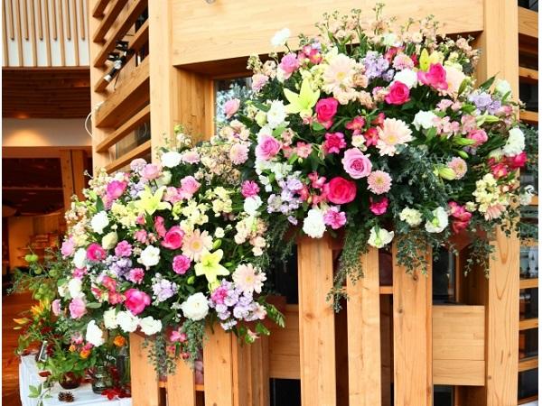 """""""いい夫婦の日""""に新潟の花を贈ろう!新潟市で花の展示会開催"""