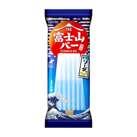 """日本の夏にぴったり!""""富士山""""をイメージしたアイス「THE富士山バー」"""