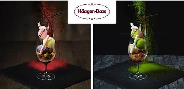 ハーゲンダッツアイスを使用!秋の味覚を楽しめる2種のパフェが登場
