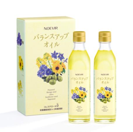 おいしく健康をサポート!ノエビアから栄養機能食品の「食用油」が発売