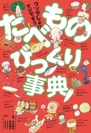 """児童書で人気の""""雑学事典""""ジャンルに「たべもの」事典が登場!"""
