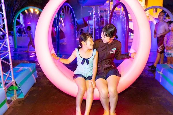 涼しくなってから遊べる!岐阜「オアシスパーク」でキッズナイトプール開催中