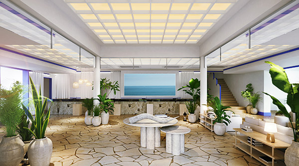 美しい海とギリシャ気分を堪能!「与論島」最大のビーチリゾートホテルがリニューアル
