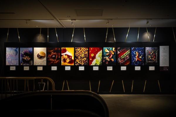 キャビアをアート作品として表現した写真がアートホテル大阪ベイタワーにて展示中!