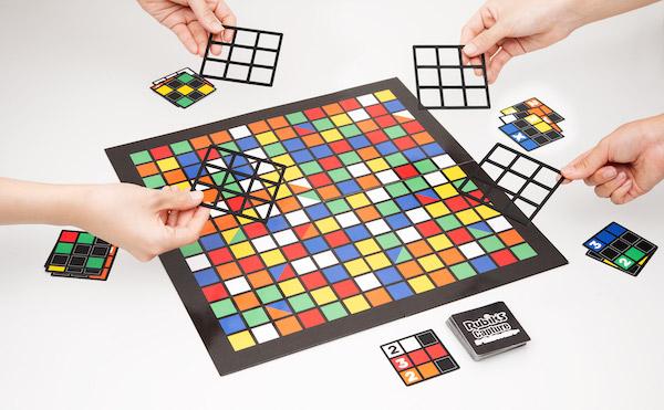 ルービックキューブが二次元に! 新感覚ボードゲーム「ルービックキャプチャー」発売