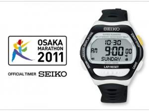 「大阪マラソン2011」ランニングウオッチ