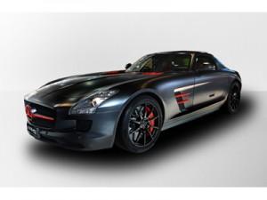 「SLS AMG Matt Black Edition」
