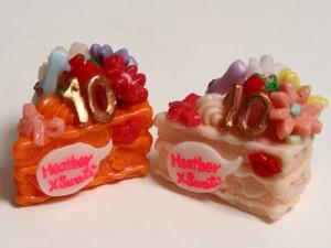 ケーキ型キャンドル