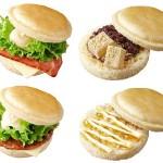 【ロッテリア】ふんわり柔らかな食感の「パンケーキ風バンズ」が新モーニングとして登場!