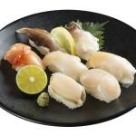 豪華7貫を一皿に!スシローに「あわび」「赤貝」「大つぶ貝」などが楽しめる貝の盛り合わせ登場