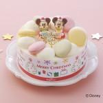 今年はミッキー&ミニーといっしょ!銀座コージーコーナーのクリスマスケーキ2品の予約受付開始