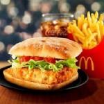 もっちりチャバタバンズでサクサクコロッケをサンド!!マクドナルド冬季限定の新商品は風味豊かな「かにコロッケバーガー」