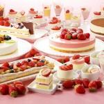 甘~い贅沢をたっぷりお届け!「デザートブッフェ 苺フェア」開催