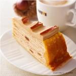 ドトールコーヒーショップが秋の恵み、マロンミルクレープなど新商品をもうすぐ発売‼