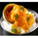 今夏に食べておきたい!!みずみずしい富良野メロンを半個まるごと使った「究極の最高級かき氷」