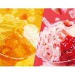 【ミスド】今年の「わた雪かき氷」は、果肉&果汁入りアイスをふわふわに削った逸品!新フレーバー「白桃」も登場