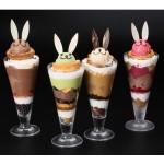 「うさぎリエジョア」が夏バージョンに! 『ニコラハウス』に夏にぴったりのアイスパフェが登場