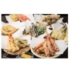 揚げたてサクサク天ぷら約30種とお惣菜約25種が食べ放題!これはもう、行くしかないかも♡