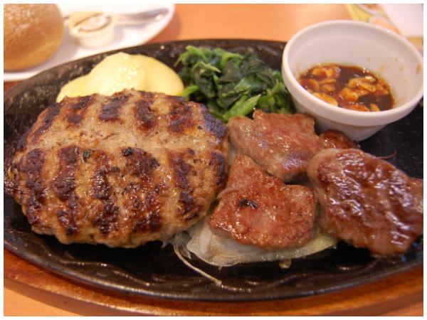 ビーフ&大麦牛100%ハンバーグ