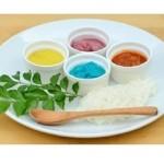 なんと4色のカレーが登場! 8月1日「水の日」限定で「4色カレー」&「0円かき氷」を数量限定で販売