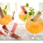 """驚きの""""パクチーアイスキャンディー""""も登場!アイスキャンディー×お酒の新提案、ホテル椿山荘東京 空中庭園「シャンパンガーデン」開催"""